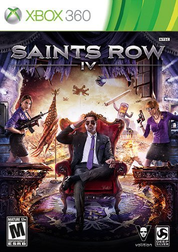 Xbox 360 Saints Row Iv Square Enix Llc M