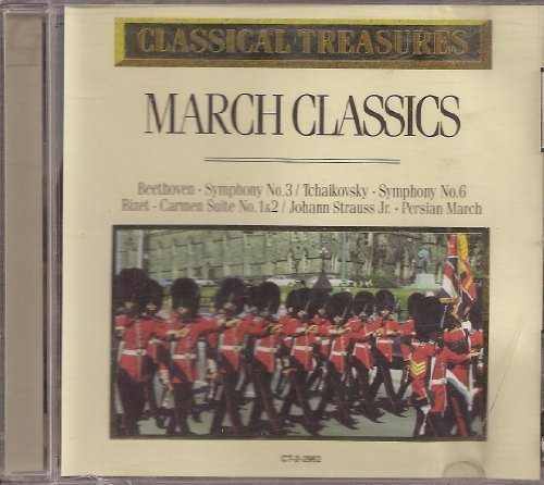 Various Beethoven Tchaikovsky Bizet Strauss Classical Treasures March Classics