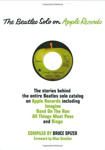 Bruce Spizer The Beatles Solo On Apple Records