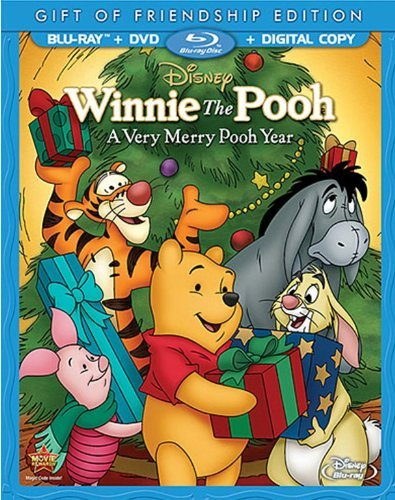 Winnie The Pooh Very Merry Pooh Year Special Edition G DVD Dc Blu Ray Ws