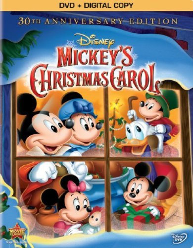 Mickey's Christmas Carol Disney DVD Dc G