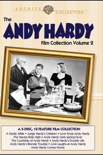 Vol. 2 Andy Hardy Film Collect Rooney Mickey This Item Is Made On Demand Could Take 2 3 Weeks For Delivery