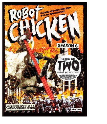 Robot Chicken Season 6 Robot Chicken Ws Nr 2 DVD