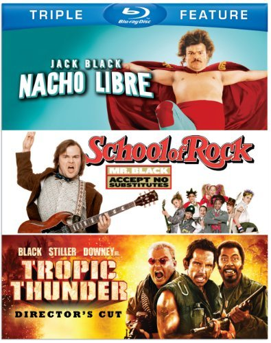 Nacho Libre School Of Rock Tro Black Jack Blu Ray Ws Nr