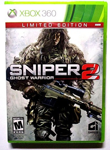 Xbox 360 Sniper Ghost Warrior 2 Limited Edition X360 Limited Edition