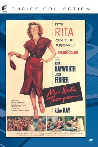 Miss Sadie Thompson Ferrer Hayworth Ray Collins DVD R Nr