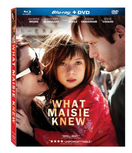 What Maisie Knew Moore Skarsgard Aprile Blu Ray Ws R Incl. DVD