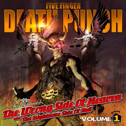 Five Finger Death Punch Vol. 1 Wrong Side Of Heaven & The Righteous Side Of Hell Explicit Version Deluxe Ed. 2 CD