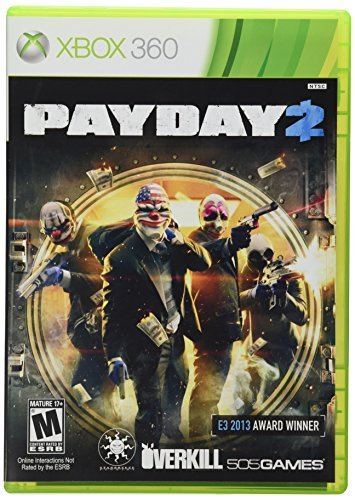 Xbox 360 Payday 2 505 Games M