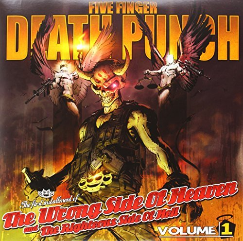Five Finger Death Punch Vol. 1 Wrong Side Of Heaven & The Righteous Side Of Hell Explicit Version 2 Lp