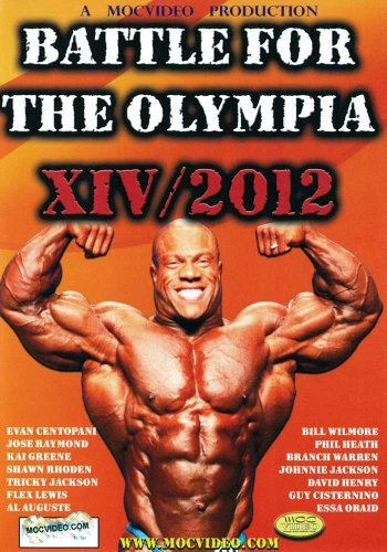 Battle For The Olympia 2012 Bodybuilding Competition Nr 3dvd