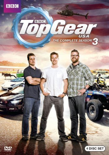 Season 3 Top Gear Usa Nr 4 DVD