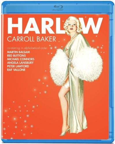 Harlow (1965) Baker Buttons Lansbury Blu Ray Ws Nr