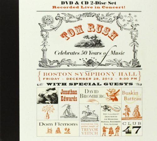 Tom Rush Celebrates 50 Years Of Music (