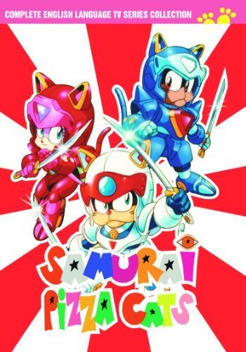 Complete Series Samurai Pizza Cats Nr 8 DVD