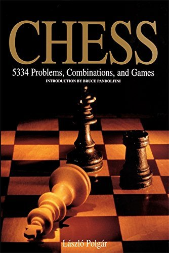 Bruce Pandolfini Chess 5334 Problems Combinations And Games