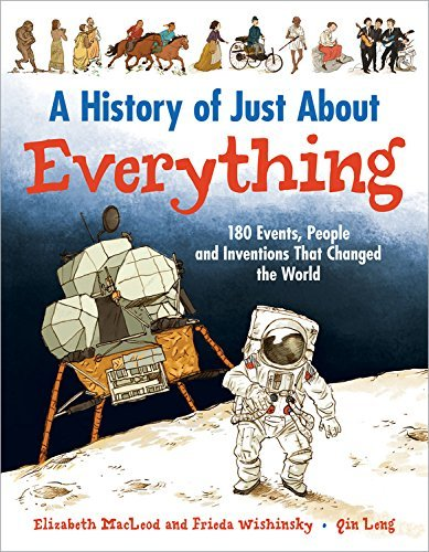 Elizabeth Macleod A History Of Just About Everything 180 Events People And Inventions That Changed Th