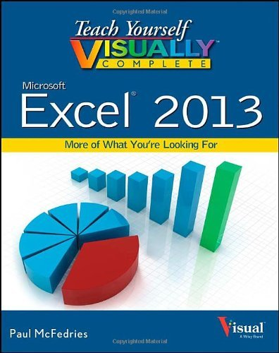 Paul Mcfedries Teach Yourself Visually Complete Excel