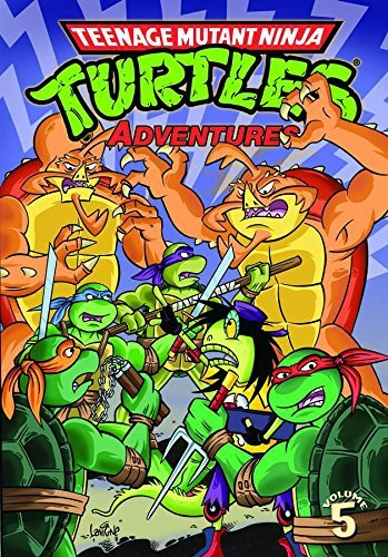 Dean Clarrain Teenage Mutant Ninja Turtles Adventures Volume 5