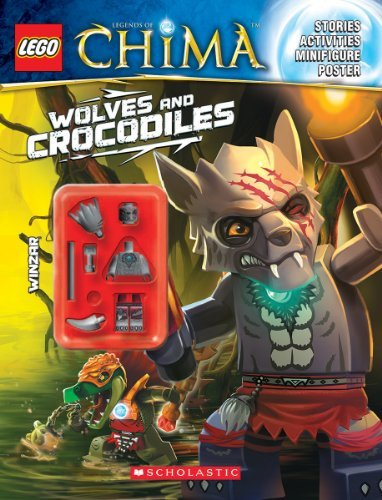 Various Lego Legends Of Chima Wolves And Crocodiles (activity Book #2)