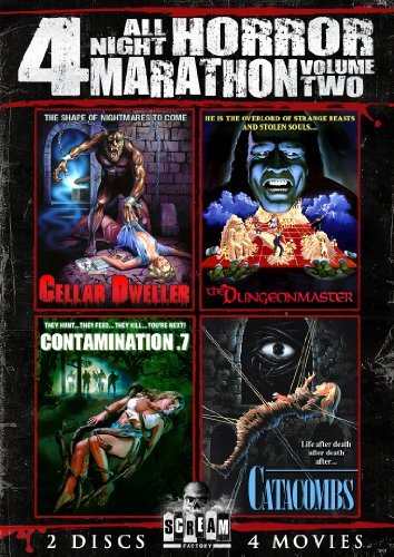Cellar Dweller Catacombs Dunge Scream Factory All Night Horro R 2 DVD