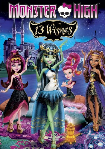 Monster High 13 Wishes DVD Nr Ws