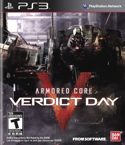 Ps3 Armored Core Verdict Day Namco Bandai Games Amer T