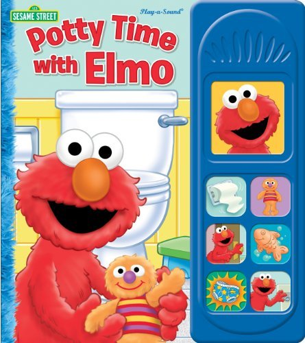 Editors Of Publications International Sesame Street Potty Time With Elmo (1 2 3 Sesame