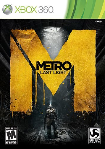 Xbox 360 Metro Last Light (replen) Square Enix Llc M