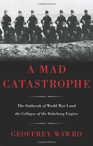 Geoffrey Wawro A Mad Catastrophe The Outbreak Of World War I And The Collapse Of T