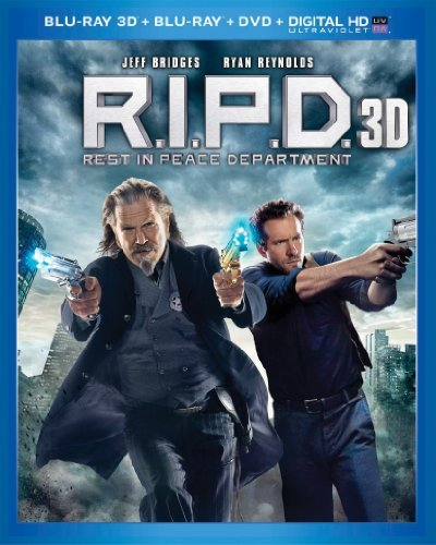 R.I.P.D. 3d Bridges Reynolds Blu Ray 3d Ws Pg13 Br DVD Dc Uv