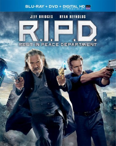 R.I.P.D. Bridges Reynolds Blu Ray DVD Dc Uv Pg13 Ws