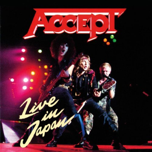 Accept Live In Japan Import Eu