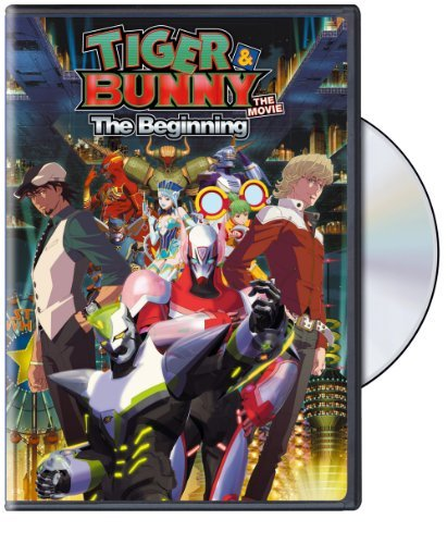 Tiger & Bunny Movie Beginning Tiger & Bunny Movie Beginning DVD Nr