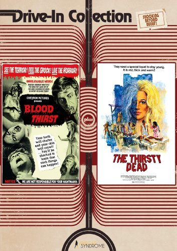 Blood Thirst Thirsty Dead Drive In Collection Ws Nr