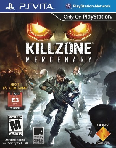 Playstation Vita Killzone Mercenary Sony Computer Entertainme