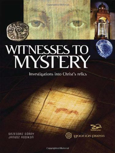 Grzegorz Gorny Witnesses To Mystery Investigations Into Christ's Relics