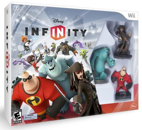 Wii Disney Infinity Starter Pack Disney Interactive Distri E10+