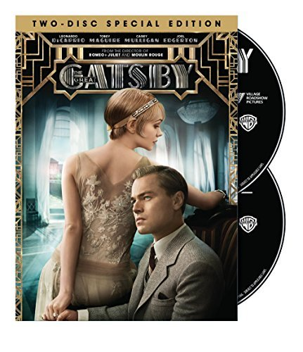 Great Gatsby (2013) Dicaprio Maguire Mulligan DVD Pg13 Ws