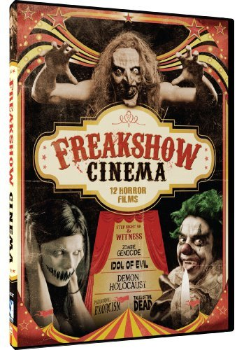 Freak Show Cinema 12 Movie Set Freak Show Cinema 12 Movie Set Nr 3 DVD