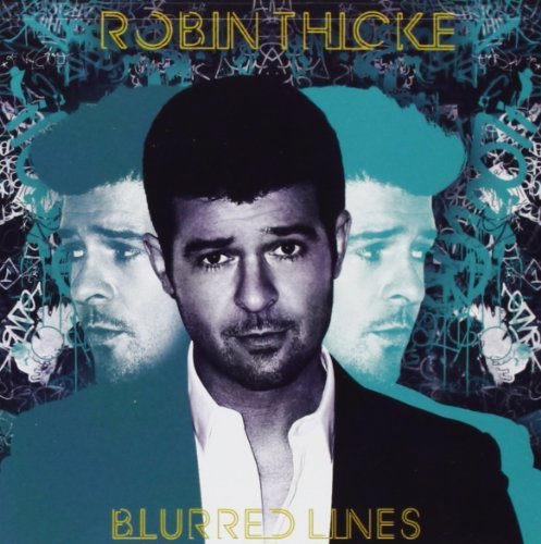 Robin Thicke Blurred Lines Deluxe Edition ( Clean Version Deluxe Ed.