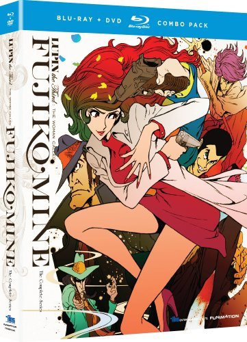 Lupin Iii The Woman Called Fuj Lupin Iii The Woman Called Fuj Blu Ray Tvma Incl. DVD
