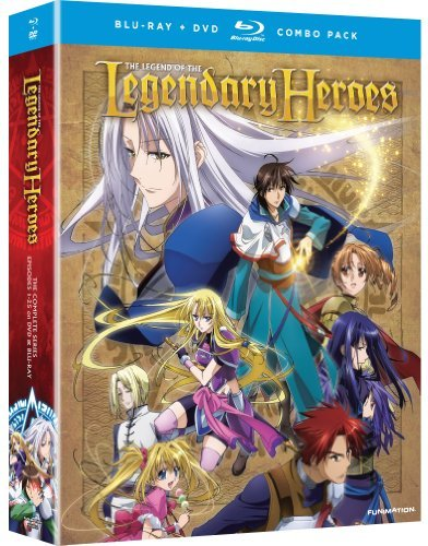 Complete Series Legend Of The Legendary Heroes Blu Ray Tv14 4 DVD 4 Br