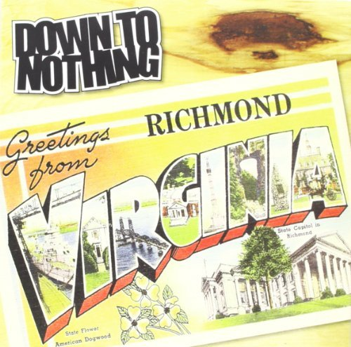 Down To Nothing Greetings From Richmond Virgin 7 Inch Single