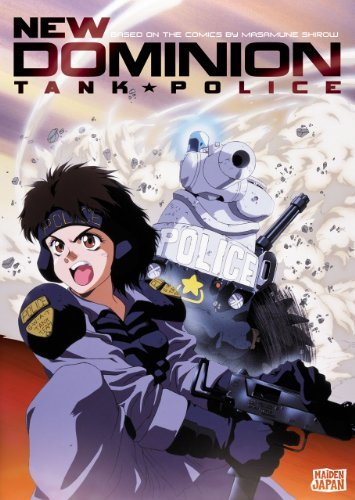 Complete Collection New Dominion Tank Police Jpn Lng Nr 2 DVD