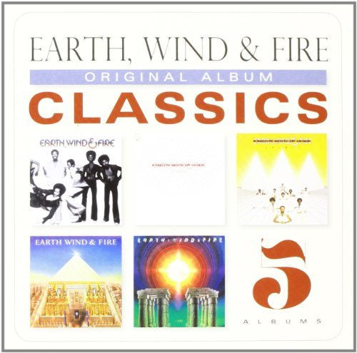 Earth Wind & Fire Original Album Classics 5 CD