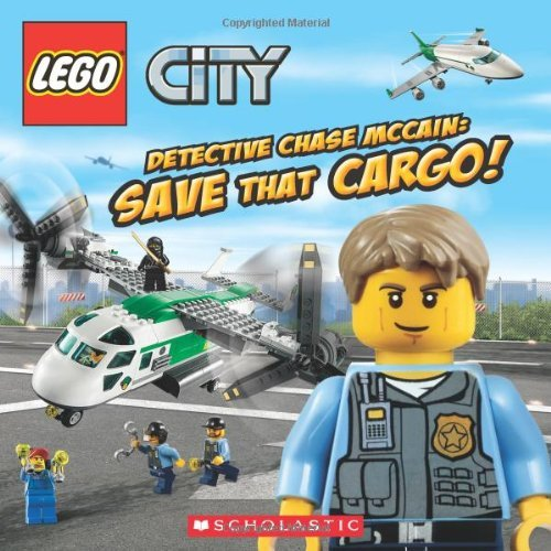 Trey King Lego City Detective Chase Mccain Save That Cargo!