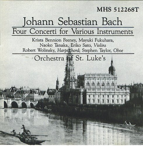 J.S. Bach Four Concerti For Various Instruments
