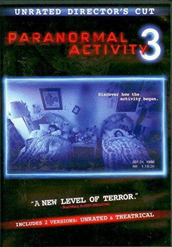 Paranormal Activity 3 Unrated Director's Cut Unrated Director's Cut