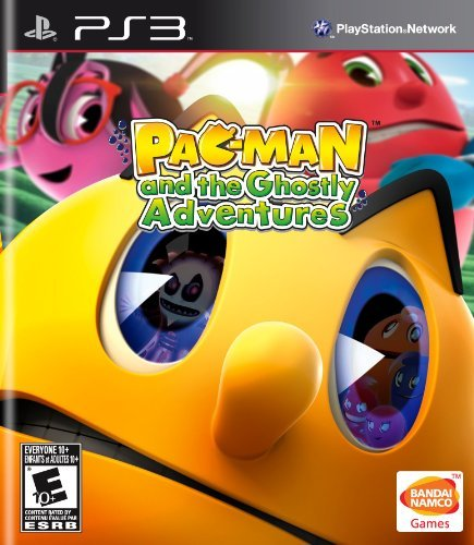 Ps3 Pac Man & The Ghostly Adventur Namco Bandai Games Amer E10+